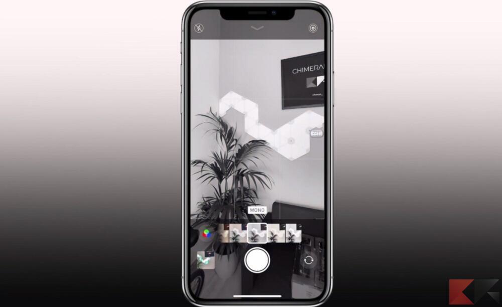 iphone bianco nero