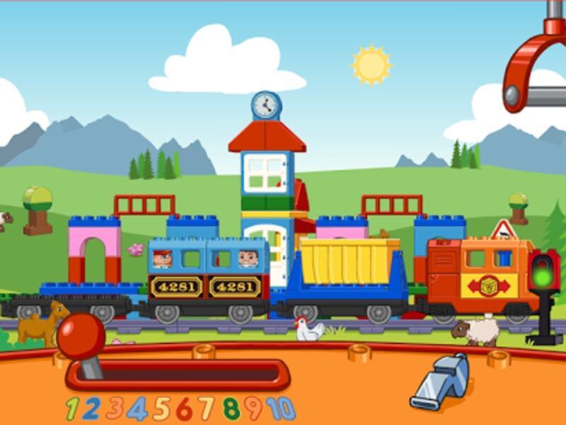 lego duplo train android