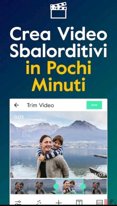app creare video con foto e musica