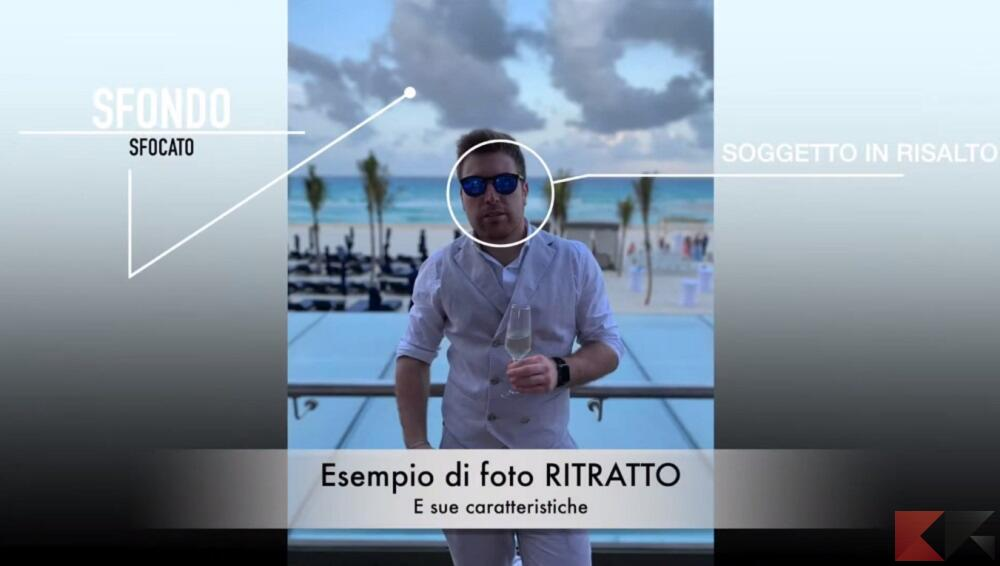 modalità ritratto iphone 1