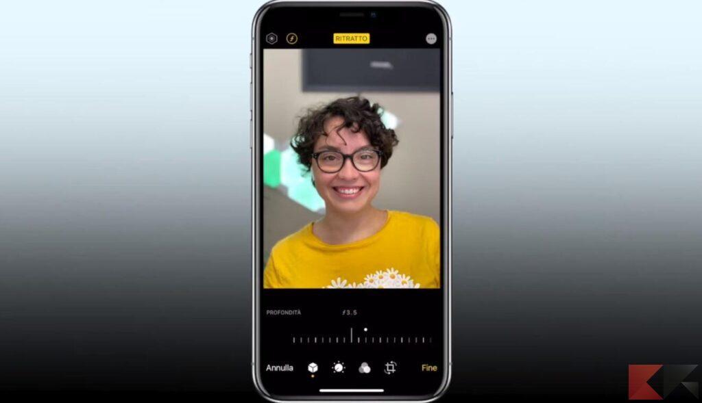 modalità ritratto iphone 2