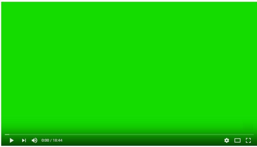 schermo verde durante video con Windows 10