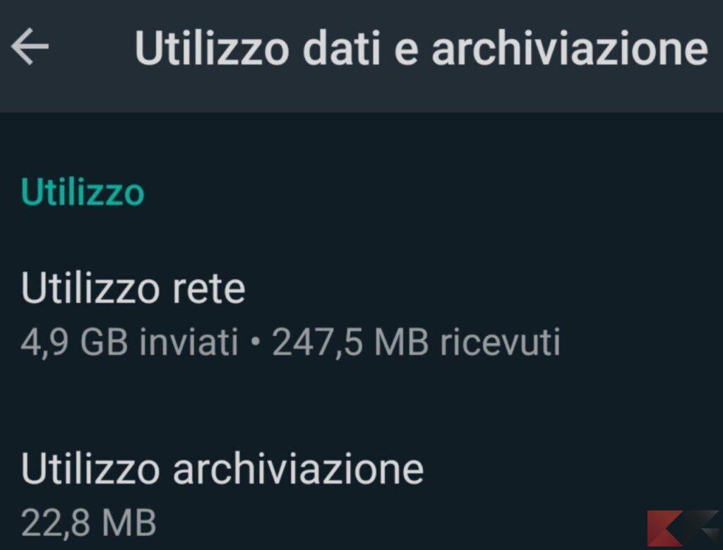 liberare memoria whatsapp