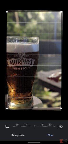 Come raddrizzare una foto (PC, Android, iPhone)