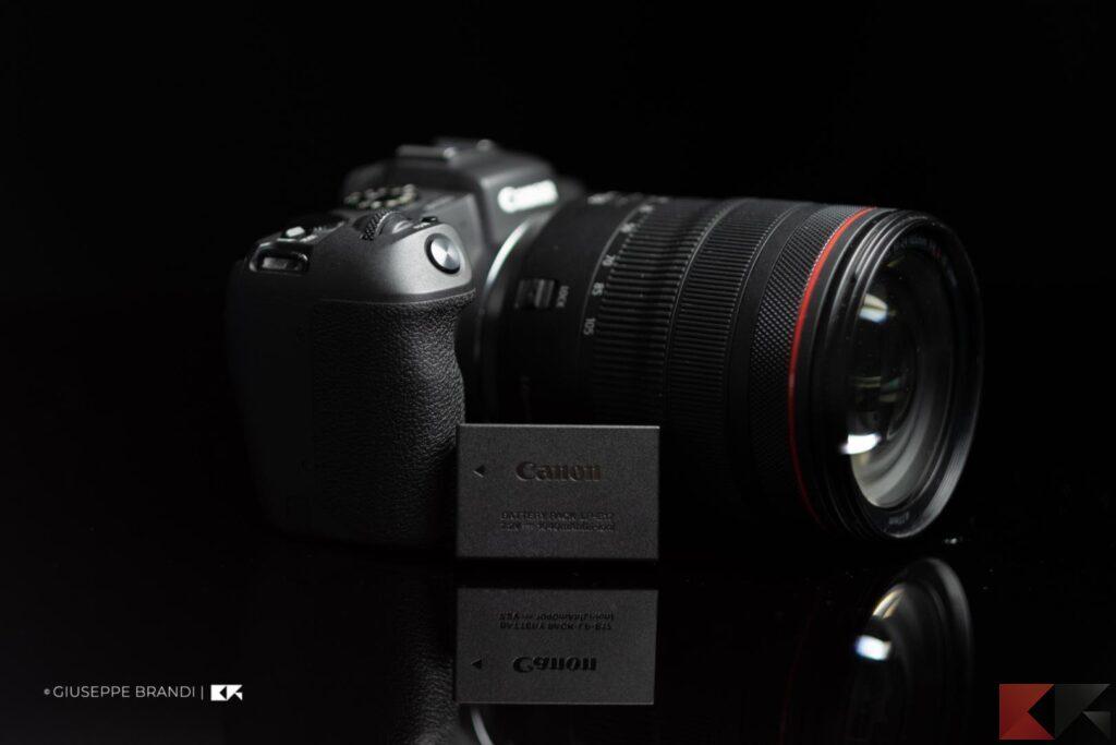 Canon EOS RP batteria