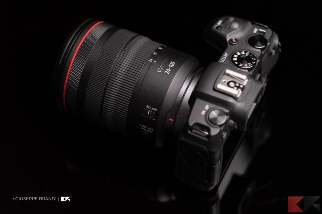 Canon EOS RP ottica RF