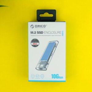 Recensione ORICO M.2 SSD Enclousre - Confezione 1
