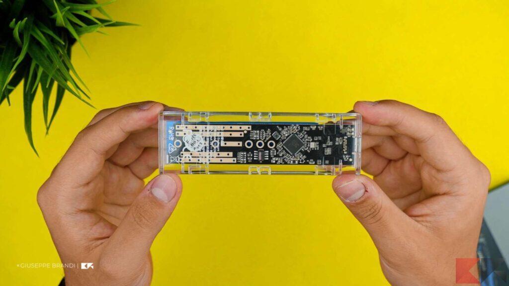 Recensione ORICO M.2 SSD Enclousre - Estetica