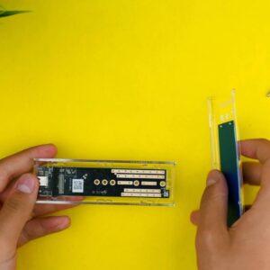 Recensione ORICO M.2 SSD Enclousre - Configurazione 1