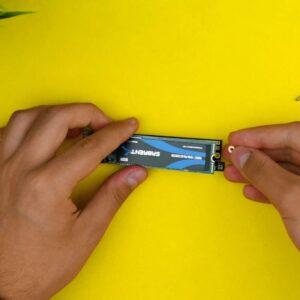 Recensione ORICO M.2 SSD Enclousre - Configurazione 3