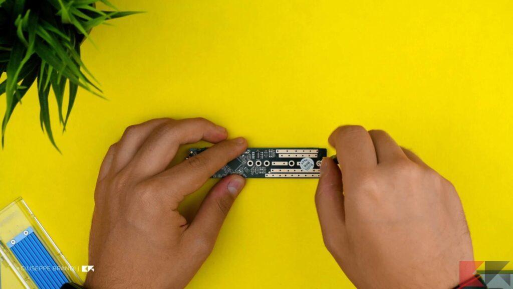 Recensione ORICO M.2 SSD Enclousre - Configurazione 4