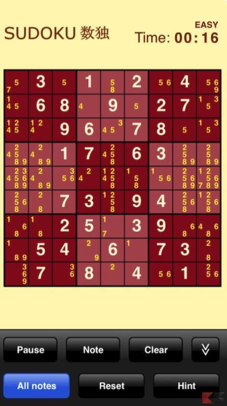 Sudoku (Gratuite)