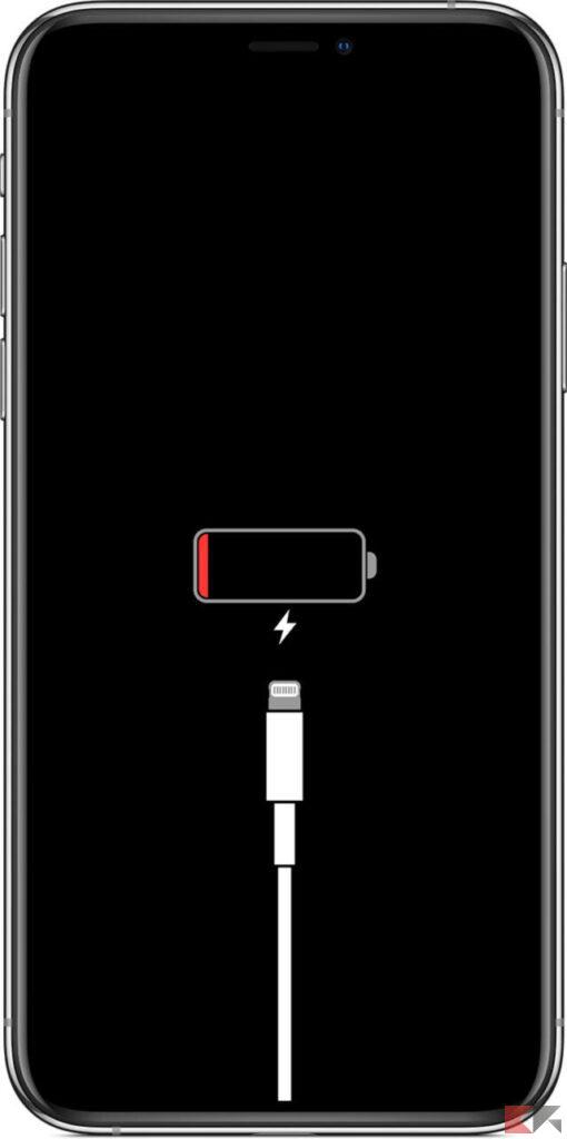 L'iPhone non si accende dopo il riavvio
