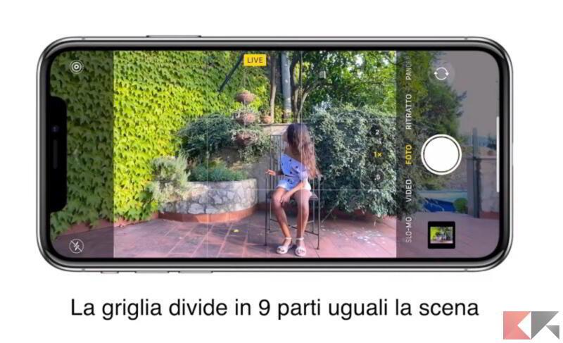 regola terzi iphone 1