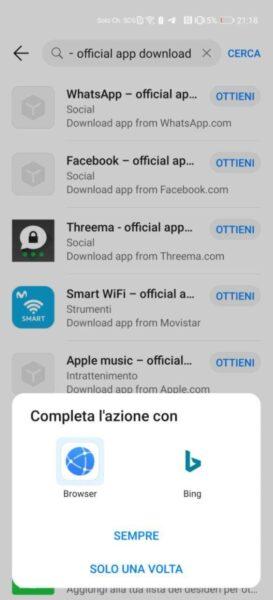 Come installare WhatsApp su Huawei