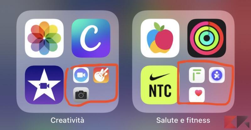Come utilizzare la libreria app di iPhone 2