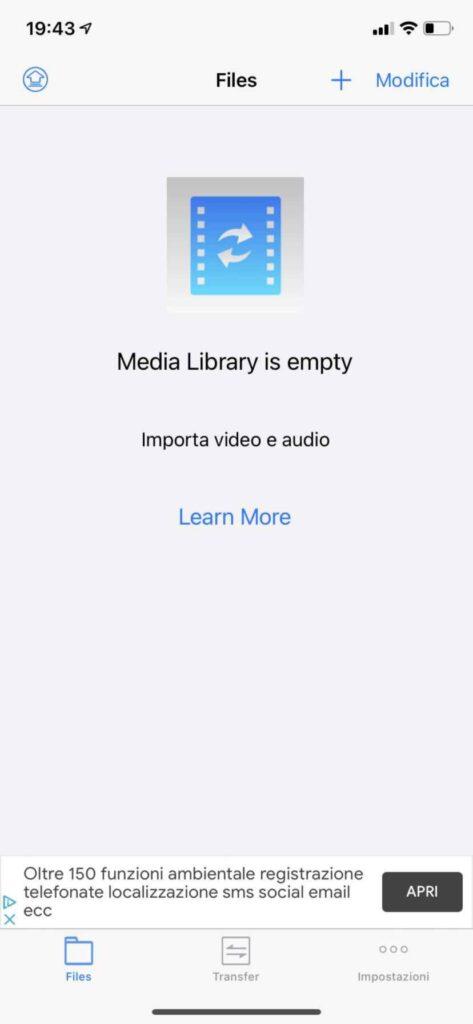 Media Converter iOS