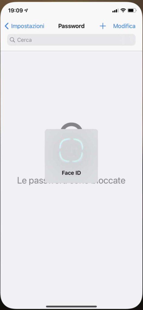 Password iCloud