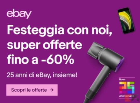 ebay 25 anniversario