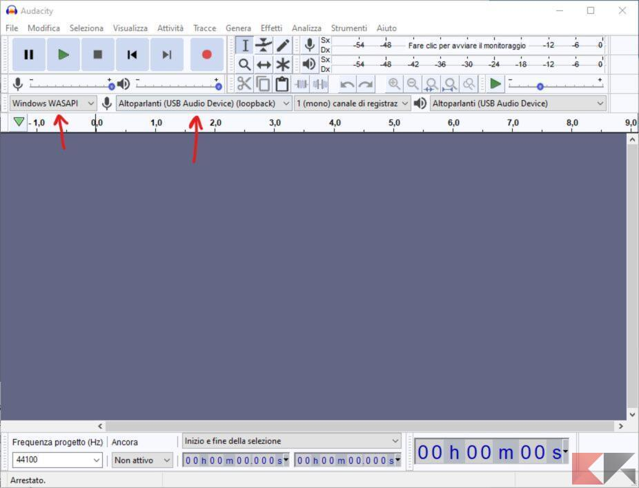 Come registrare una lezione su PC Audacity (1)