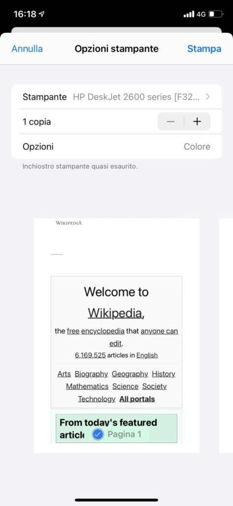 Google Cloud Print iOS