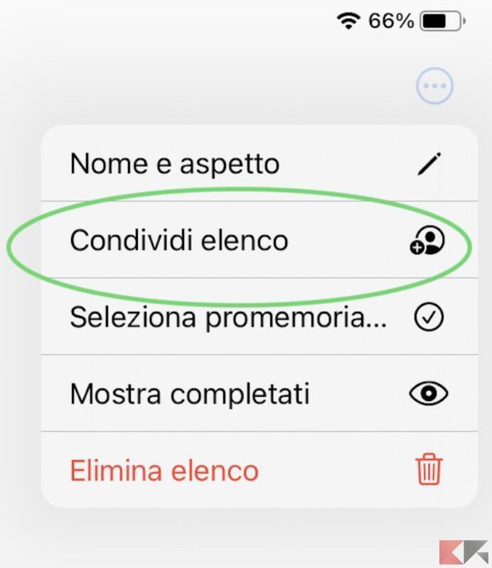 Come assegnare promemoria su iPhone 1
