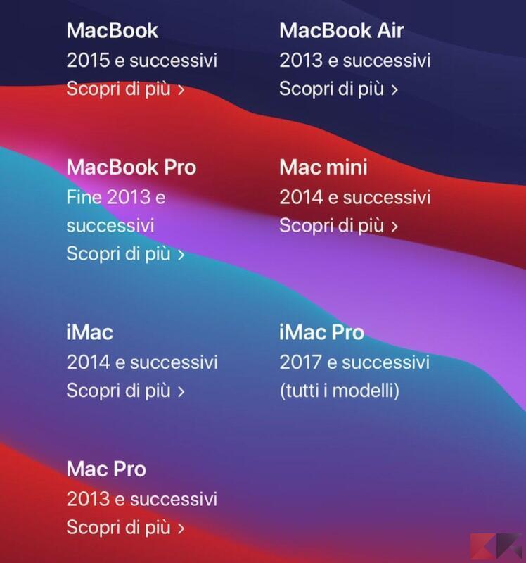Come aggiornare il Mac 1