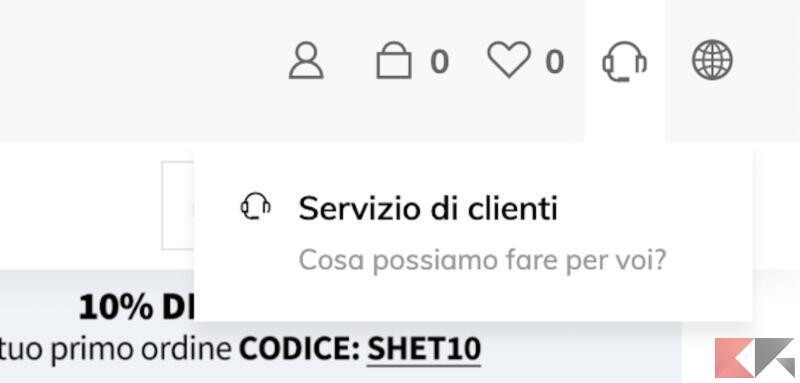 Come eliminare il proprio account SHEIN 3