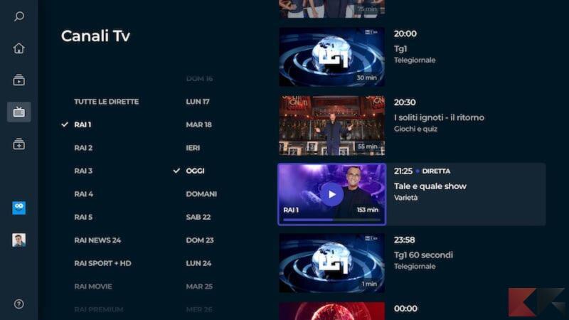 Come vedere RaiPlay su Smart TV 3