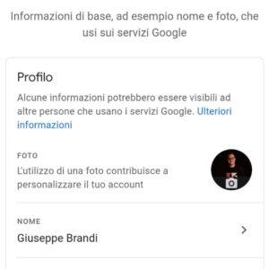 come cambiare nome su google meet 2