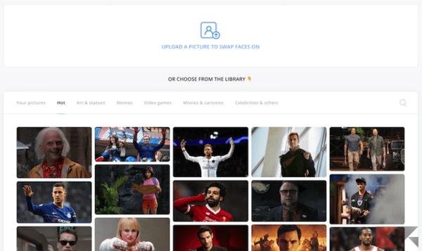 Fotomontaggi gratis: siti per cambiare faccia e corpo 1