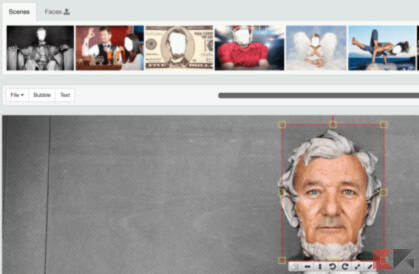 Fotomontaggi gratis: siti per cambiare faccia e corpo 4