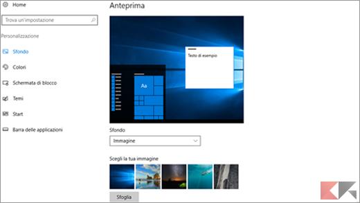 Come personalizzare Windows 10 1