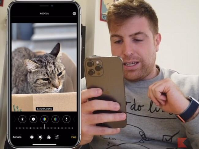 modificare foto iphone senza app 6