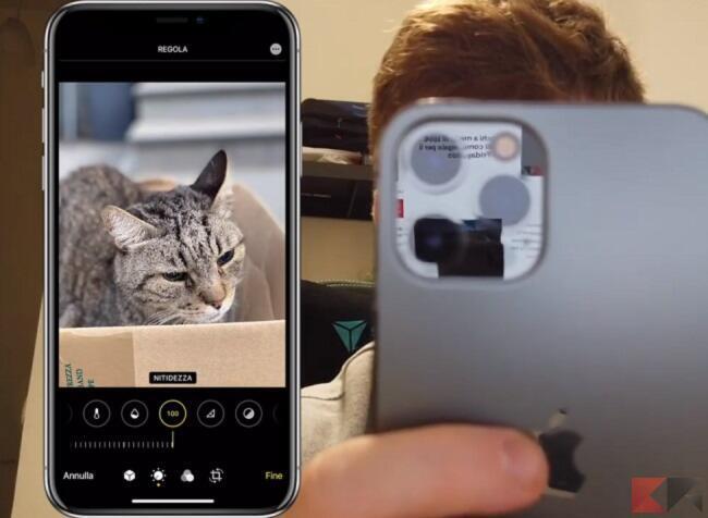 modificare foto iphone senza app 8