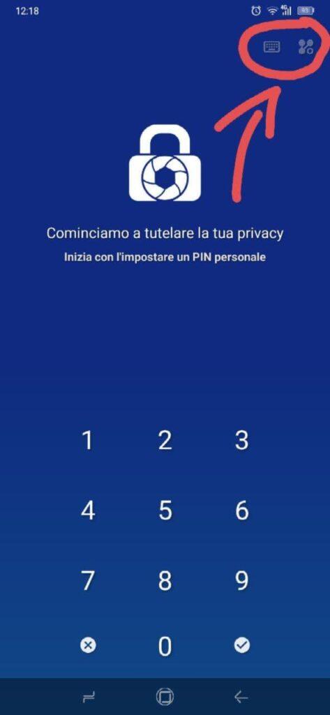 nascondere foto su Android - LockMyPix