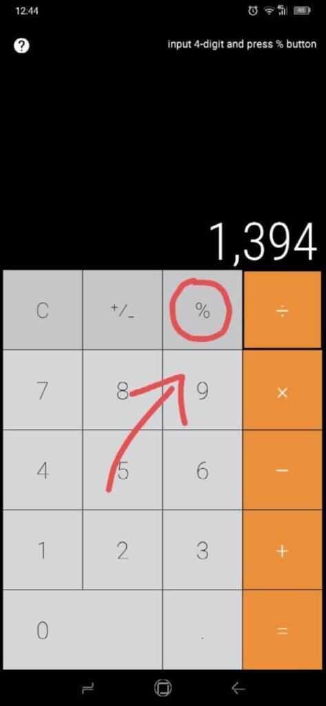 nascondere foto su Android - calcolatore vault
