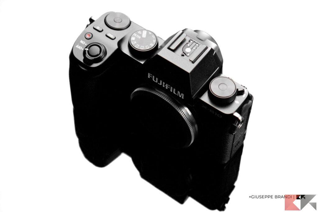 Fujifilm X-S10 contrasto