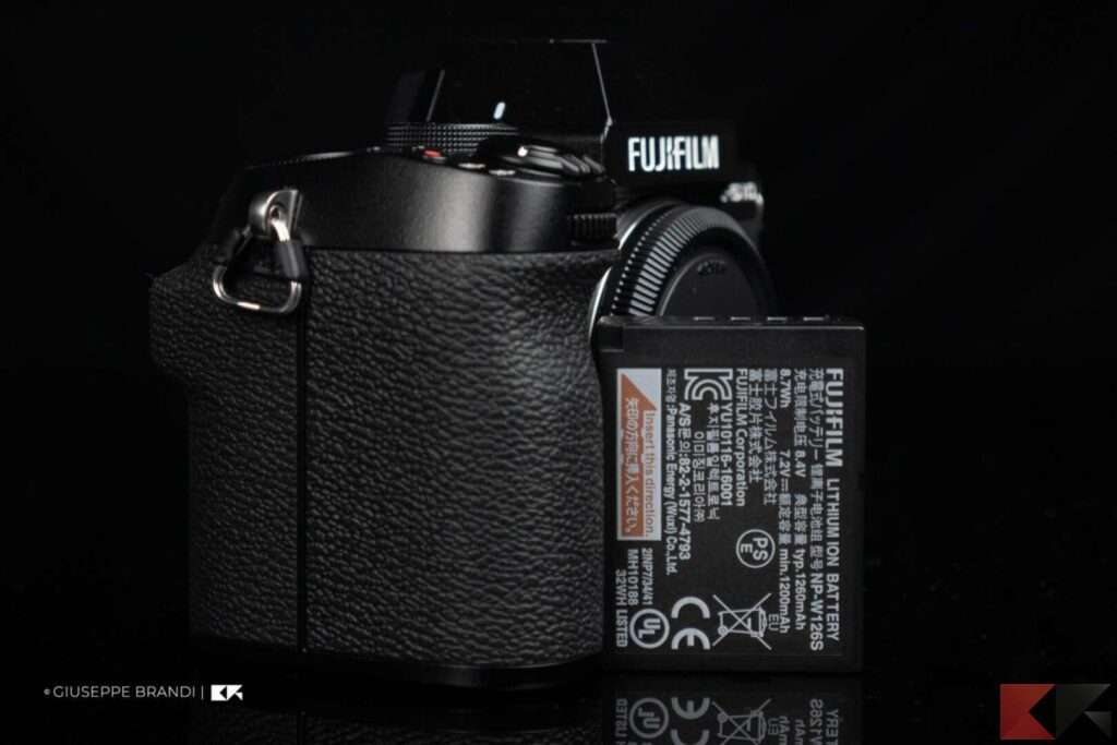 Fujifilm X-S10 batteria