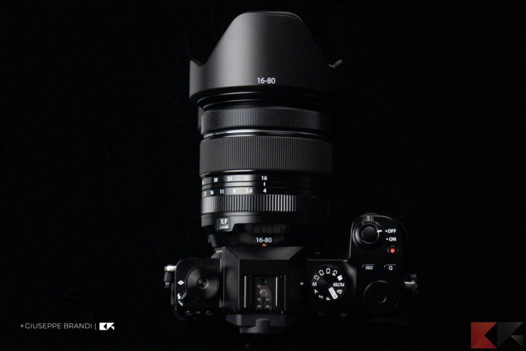 Fujifilm X-S10 superiore