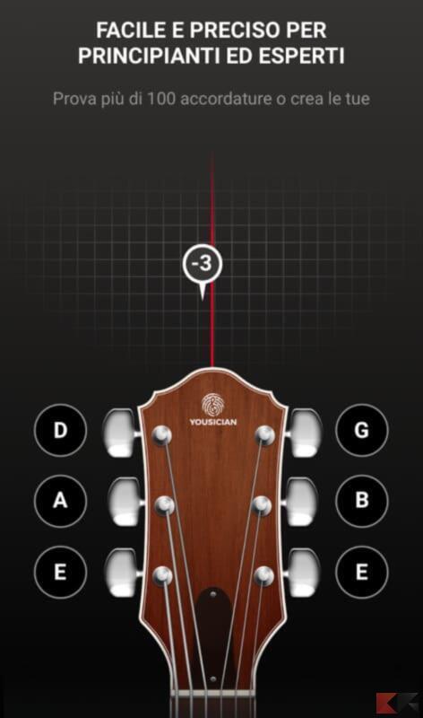 Guitar Tuna Accordatore Tuner