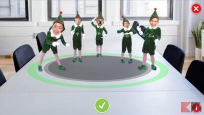 Foto di facce su corpi ballerini, Babbo Natale o elfi: migliori app e siti 2