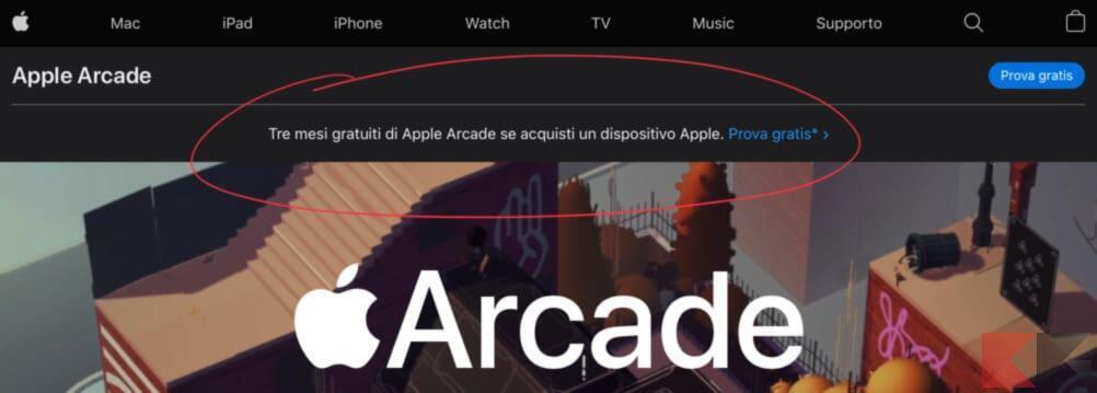 Come avere Apple Arcade gratis per 3 mesi 3