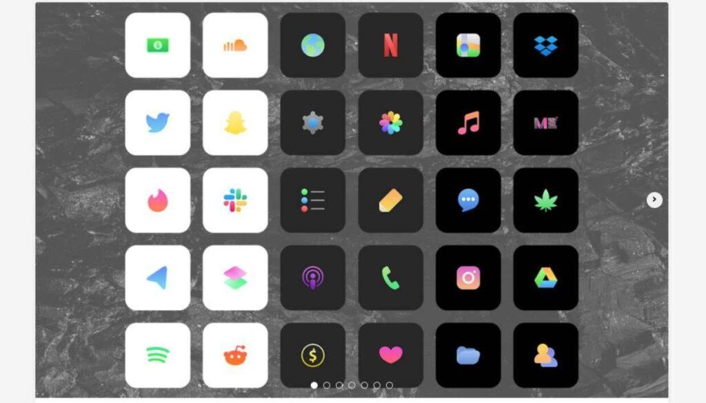 icone rimpicciolite