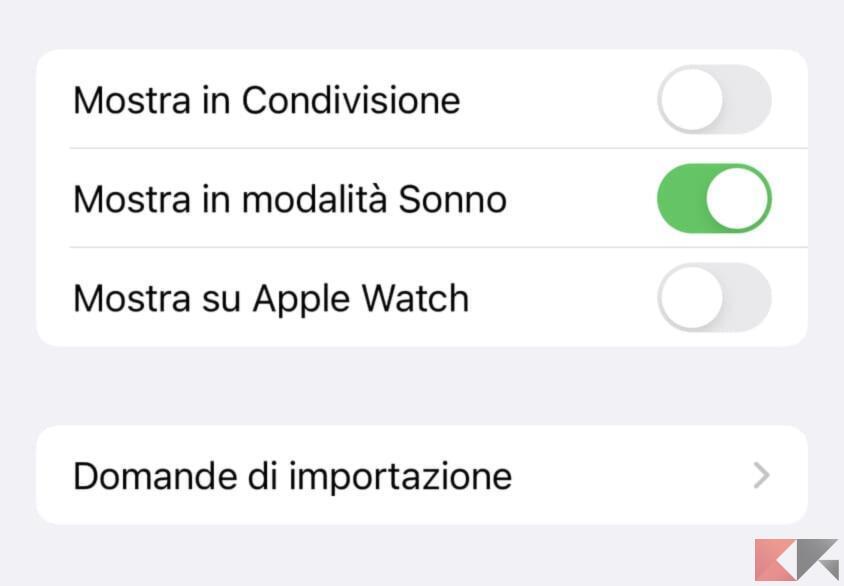 Come eseguire Comandi Rapidi su iPhone in modalità sonno 5