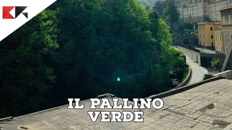 Pallino verde nelle fotografie con iPhone