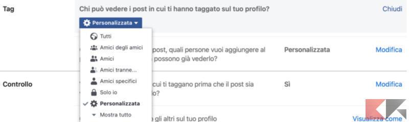 Come non farsi trovare nelle ricerche Facebook 3