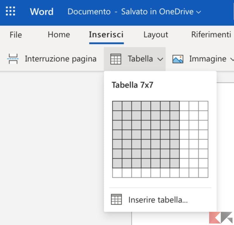 Come creare un calendario in Microsoft Word 2