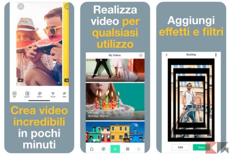 Magisto Editor Montaggio Video