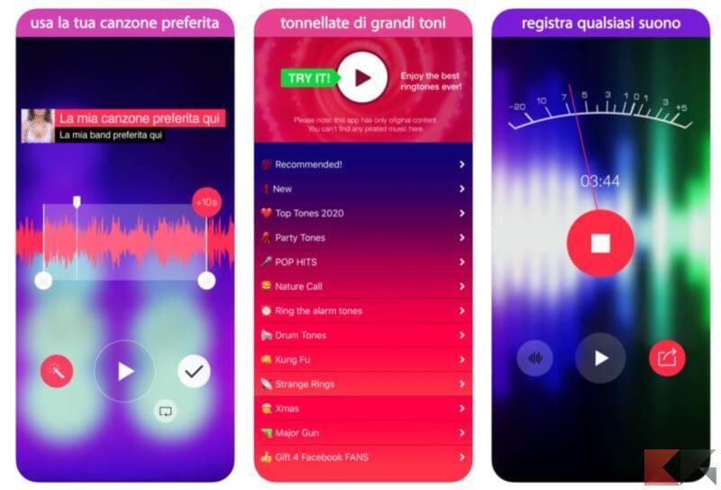 Come e dove scaricare suonerie iPhone 4